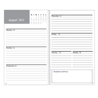 Create Your Own Weekly Planner For Business Fcpromotions